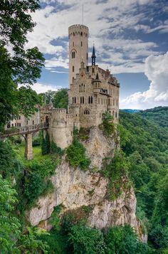 Lichenstein Castle, Lichenstein  So many grand castles in such a small country.