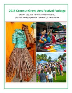 2015 Coconut Grove Arts Festival Package