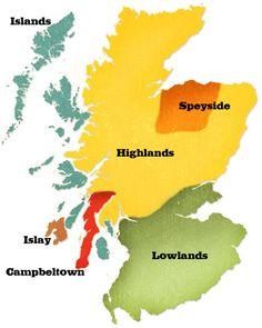 Scotland by Region- Scotch Flavor Profiles by Region
