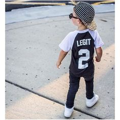 2 Legit Tee & Stipes on Leopard Hat at urbanbabyrunway.com