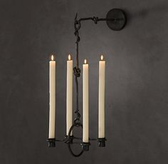 19th C. Belgian Candle Sconce thestylecure.com