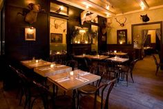 Freeman's Restaurant, LES. Tatiana's rec for a meal, especially brunch.