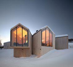 Split View Mountain Lodge,© Søren Harder Nielsen