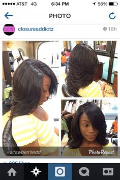Full sew in with closure