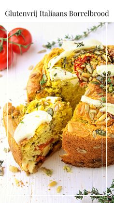 Gluten-free Italian snack bread - A simple sandwich with delicious flavors. You want to enjoy this! Roast Recipes, Gourmet Recipes, Real Food Recipes, Healthy Recipes, Healthy Pastry Recipe, Healthy Baking, Roast Chicken Fillets, Sin Gluten, Italian Snacks
