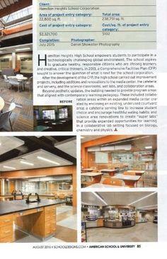 """Super Lab"", Hamilton Heights High School - Indiana"
