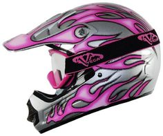 Vega Off-Road Goggles (Pink, Size Youth) by Vega. $14.99. Vega Off-Road Goggles keep the wind, dust and mud out of your eyes. They have a full surround foam filter venting and an ultra soft foam padding. They have three sizes available: adult, youth and peewee. Youth and PeeWee sizes fit Junior helmets and smaller faces. Wide logo strap that hold goggles securely. Replacement lenses and a clear tear-off pads with posts are available for these goggles.