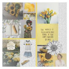"""""""The sunflower is mine, in a way."""" by buckytrash ❤ liked on Polyvore featuring GET LOST, Vans and Chicnova Fashion"""