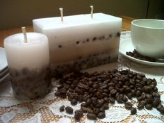 Got  stale coffee beans? wax? do it yourself!
