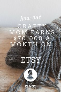 Alicia Shaffer, a California mother of three, has an Etsy store. Nothing unusual about that, right? Not until you learn that she makes up to $70,000 per month! - The Penny Hoarder www.thepennyhoard... make money from home, ways to make money at home