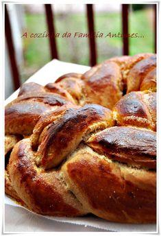 A cozinha da família Antunes: Um folar doce para uma Páscoa doce...