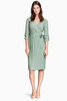 Sukienka kopertowa | H&M
