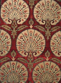 Ottoman silk textile, 16th century. Benaki Museum of Islamic Art