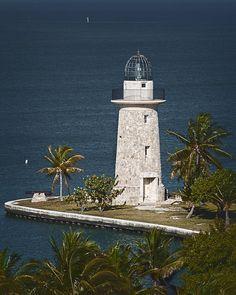 ✯ Boca Chita lighthouse, Boca Chita Key, Biscayne Bay National Park, Florida