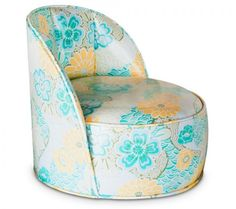 Sweet Seat Booster- Turquoise & Yellow Floral - Kitchen - For The Home, $84.00