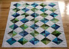 Diamonds quilt