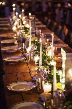 #wedding #mariage #table #candles #décoration #weddingtables