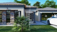 6 Bedroom House Plans - My Building Plans South Africa 6 Bedroom House Plans, Floor Plan 4 Bedroom, Square House Plans, Free House Plans, My Building, Building Plans, Small Contemporary House Plans, Tuscan House Plans, House Plans South Africa