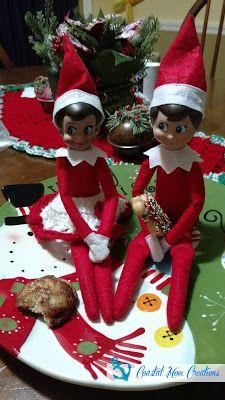 Coastal Mom Creations: Super Easy Elf on the Shelf Ideas