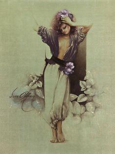 Sara Moon   Iranian Fashion painter