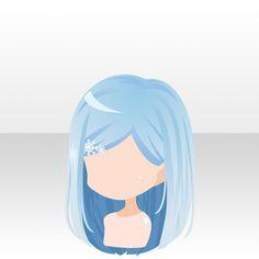 Reference Manga, Hair Reference, Kawaii Chibi, Anime Chibi, Character Inspiration, Character Design, Pelo Anime, Manga Hair, Hair Sketch
