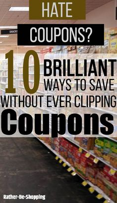 10 Brilliant Ways to Save at the Grocery Store Without Clipping - Finance tips, saving money, budgeting planner Save Money On Groceries, Ways To Save Money, Money Tips, Money Saving Tips, Grocery Coupons, Grocery Store, Preparing For Retirement, Household Expenses, Savings Planner