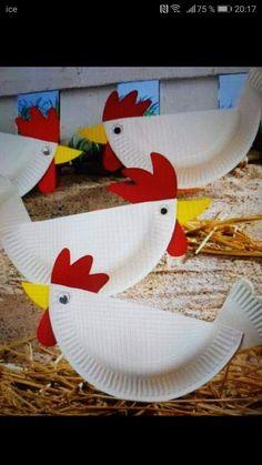 Craft Stick Crafts, Diy And Crafts, Crafts For Kids, Fire Truck Craft, Truck Crafts, Cute Egg, Kindergarten Art Projects, Egg Carton Crafts, Unicorn Crafts