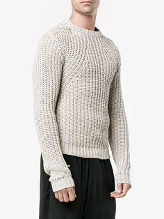 Rick Owens biker sweater