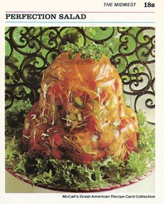 Vintage Cooking Recipes That Are Horrifying - We share because we care. A resource for sharing the latest memes, jokes and real stuff about parenting, relationships, food, and recipes Jello Recipes, Old Recipes, Vintage Recipes, Gelatin Recipes, Jello Desserts, Cooking Recipes, Pudding Recipes, Gross Food, Gourmet
