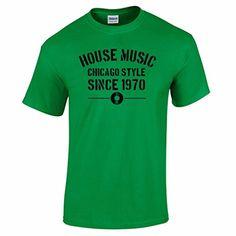Bang Tidy Clothing Men's House Music Chicago Style Since 1970 Vinyl DJ Summer Party T Shirt Green S BANG TIDY CLOTHING http://www.amazon.co.uk/dp/B00XCN1JMA/ref=cm_sw_r_pi_dp_vrntvb1E5G1PK