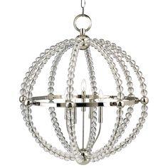 Restoration Warehouse Danville Sphere Chandelier-Polished Nickel | Sphere | Chandeliers | Lighting | Candelabra, Inc.