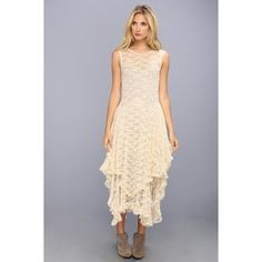 Free People Stretch Lace French Court Slip Dress