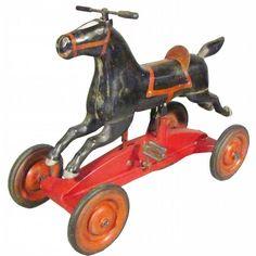 Corcoron Black Beauty Pedal Horse.