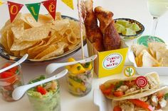 Blend tex-mex and traditional Cinco de Mayo recipes for a festive party!