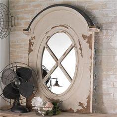 Dormer Style Framed Mirror
