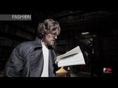TRUSSARDI Backstage & Collection Presentation Menswear Spring Summer 2016 Milan by Fashion Channel - YouTube