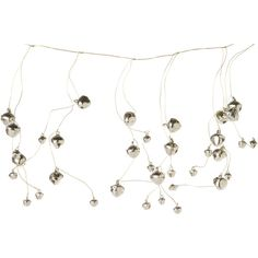 Jingle Bell Garland ($14) ❤ liked on Polyvore