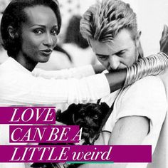 Find someone who #loves your kind of #weird! /// #Happy #valentines day lovers. Featuring another #powercouple for our #valentinesday post sprint - #bowie and #iman, #king of #music and the #queen of the #catwalk - one of the #greatest #lovestories of all time **   ***Follow me on INSTAGRAM***  #enjoy #instagood #heart #davidbowie #today #haveagreatday #instacollage #instadaily #myart #instacollage