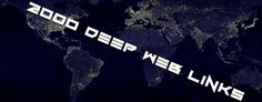 2000 deep web links The Dark Web, Deepj Web or Darknet is a term that refers specifically to a collection of websites that are publicly visible, but hide the IP addresses of the servers that run them. Thus they can be visited by any web user, but it is very difficult to work out who …