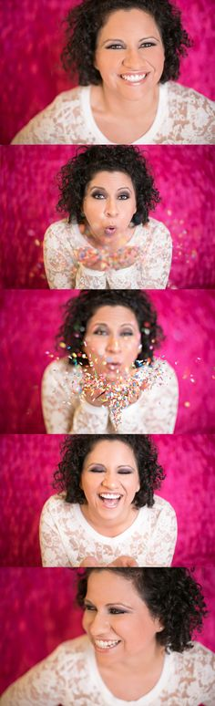 Fun makeup, glitter photo inspiration, colorful pink pictures, glamour photographer in souther california, Weddings, Births, Engagements, Newborns, Family photography studio