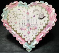 Wedding Heart Card- Creative Connections £2.50 #Craftfest