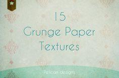 Download Grunge paper textures pack