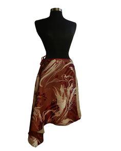 Argentine Tango Dance Skirt    Butterfly  by TheGiftofDance