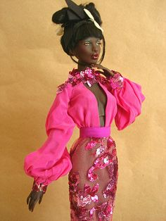 Numina Ajuma in Pink by Nina-chan, via Flickr
