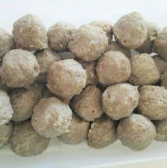 Resep Bakso Sapi kenyal enak tanpa baking powder by Xanderskitchen