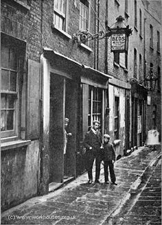 (or 'Doss') House on Paternoster Row, London, Many of the poorest people had to sleep in such overcrowded common houses for about per night. MásLodging (or 'Doss') House on Paternoster Row, London, . Victorian London, Vintage London, Old London, Victorian Street, Victorian Life, East End London, Victorian History, Victorian Buildings, London Food