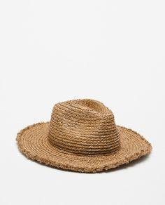 fefd759799e57 ZARA - NEW THIS WEEK - WIDE BRIM STRAW HAT
