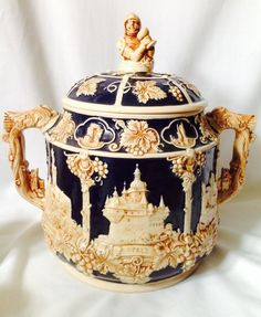 Antique German Wick Werke Soup Tureen by SistersVintagePearls