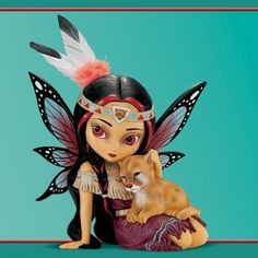 The Hamilton Collection -Jasmine Becket-Griffith Braveridge, The Spirit Of Strength Lion Cub And Fairy Fantasy Art Figurine Fantasy Kunst, Fantasy Art, Dragons, Fairy Pictures, Gothic Fairy, Fairy Figurines, Baby Fairy, Beautiful Fairies, Fairy Art