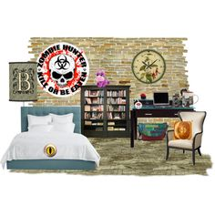 """Dorm Room"" by ziernor on Polyvore"